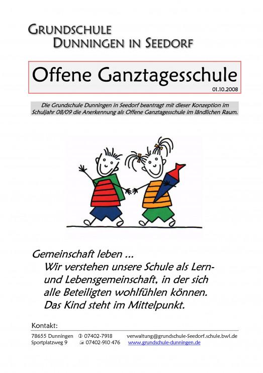 Grundschule Dunningen In Seedorf Ganztagesschule In Offener