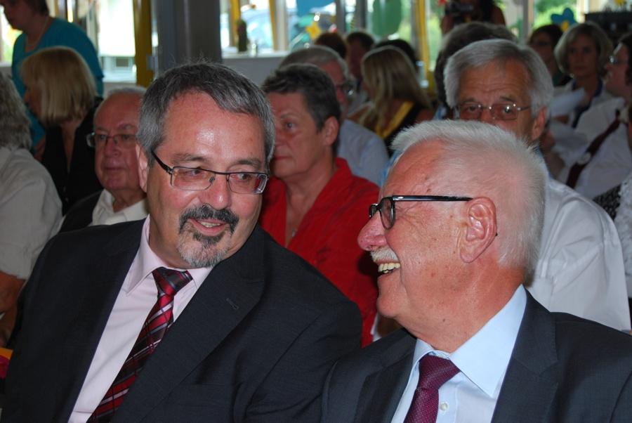Herr Pfaller und Herr Winkler