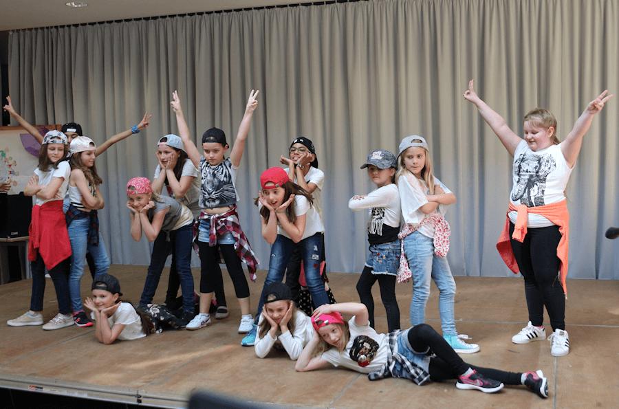 Auftritt der Tanz-AG