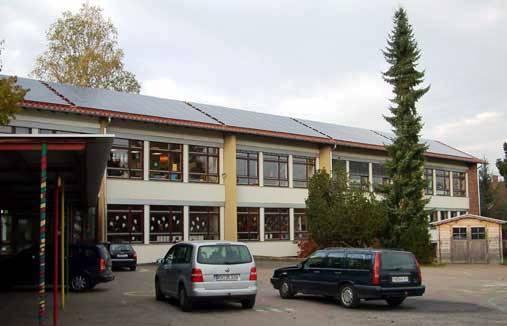 Schulgebäude nach 5 jähriger Sanierung 2005