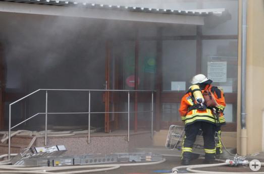 Brandfalluebung