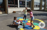 Schulhofhüpfspiele