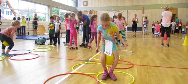 Bewegte Schule Spieletag 2013