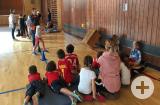 Handballaktion für die Zweitklässler